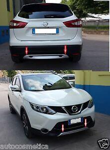 modanature Spoiler 2 sotto paraurti per Nissan Qashqai (J11)anteriore+posteriore