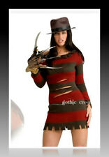 Nightmare Elm Street Miss Freddy Krueger Costume/Dress/Claw/Hat. Brand New! HTF!