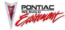 "The Original Pontiac Excitement Decal 6"""