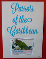 2014 St VINCENT PARROTS OF THE CARIBBEAN UNION Is STAMP MINI SHEET