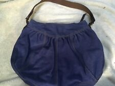 lucky brand blue swede hobo new without tags