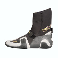 2018 Gul Power 5mm Split Toe Wetsuit Boot Black Bo1309-b4 UK Size 9