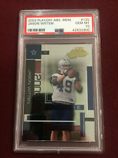 Jason Witten 2003 Playoff Absolute Memorabilia Rookie Card 495/1100 PSA 10 GemMt