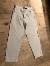TIMBERLAND Mens Trousers Pants Khaki Beige 100% Cotton Tag 32 X 30 AS IS