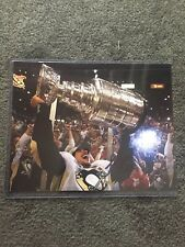 Sidney Crosby Signed 8 x 10 Stanley Cup Photo - Pittsburgh Penguins