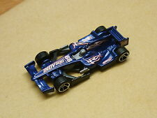 Cake Topper model Figure Decoration Birthday - RACING  CAR Indy 500 Blue F1
