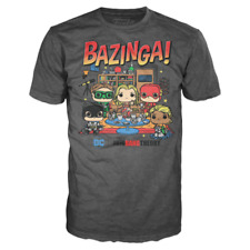 The Big Bang Theory SDCC 2019 Convention Exclusive Funko Unisex T-Shirt Size L