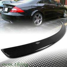 STOCK USA CARBON MERCEDES BENZ W219 CLS SEDAN TRUNK SPOILER 2010 CLS350