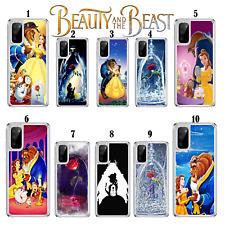 Disney belleza y la bestia caso para Samsung Galaxy S10 S20 A10 A40 A41 A51 A21s