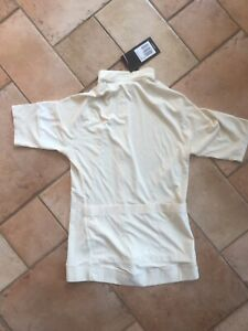 Rapha Core Women's Cream short sleeved cycling jersey New