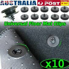 10 Replacement Floor Mat Carpet Anti-Slip Fastener Clips Car Auto Stay Retainer
