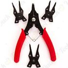 SNAP RING PLIERS 4-IN-1 RETAINING CIRCLIP CLIP TOOL NEW