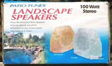 2 - Bahama Sounds Patio Sounds PTL100 Outdoor Garite Landscape Speakers