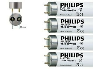 Philips 36w T8 Fluorescent Tube 4ft 1200mm Colours 830/835/840/865