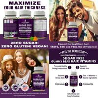 BEST HAIR VITAMINS FOR FAST HAIR GROWTH GROW FASTER LONGER THICKER FULLER *NEW*