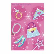 8pk Princess Loot bags Glam Sparkle Favour Loot Treat