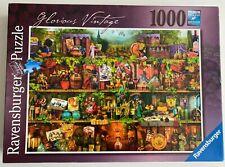 Ravensburger 'Glorious Vintage' 1000 piece puzzle 1 Missing Piece Aimee Stewart
