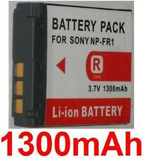 Batería 1300mAh tipo NP-FR1 Para Sony Cyber-shot DSC-P200