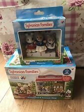 Sylvanian Families Bundle - 2 Box Collectable Sets Rare (Grandstand, Winners)