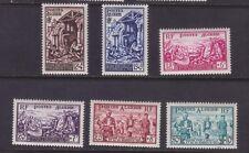 stamps Algeria  unused  set B76-81