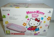 CONSOLE PSP SLIM BLOSSON PINK LIMITED HELLO KITTY PSP-3004 ZP NEW PAL RARE