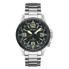 New Seiko Automatic Stainless Steel Prospex Black Dial Men's Watch SRPA71