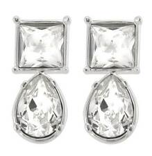 Cullinan Earrings Reproduction Silver Plated with Swarovski elements stud NEW