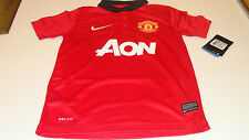Manchester United 2013-14 Soccer Home Jersey SS M Premier League Youth Boys