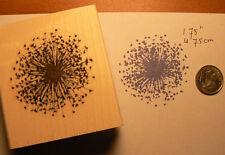 Larger Dandelion flower rubber stamp  WM P5