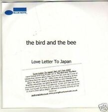 (612W) The Bird & The Bee, Love Letter to Japan - DJ CD