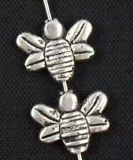 Free Ship 20Pcs Tibetan Silver Bee Spacer Beads 14x11.5mm