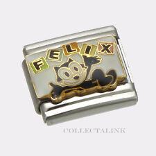 Original Casa D'oro Nomination Felix The Cat Name Charm
