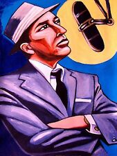 FRANK SINATRA PRINT poster in the wee small hours cd birthday gift man cave mic