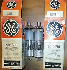 Code Matched Pair 6011 GE NOS NIB Vacuum Tubes - will combine shipping