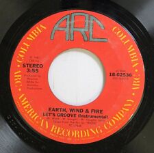 Soul 45 Earth, Wind & Fire - Let'S Groove / Let'S Groove On Arc