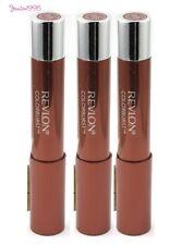REVLON Colorburst Lacquer Balm #140 COY x 3 Lipsticks