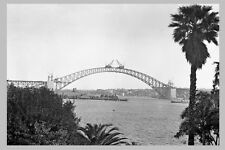 SYDNEY Harbour Bridge Construct 5th of 7 views 'Joined spans'  modern Postcard