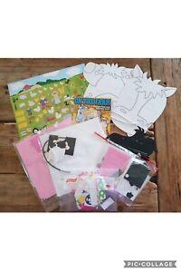 Farm Animals Children's Kids Arts & Crafts Activity Kits Packs Sets Gifts