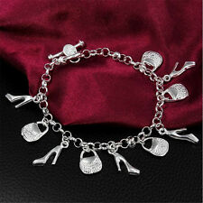 New Fashion Women 925 Silver plating bracelet Fashion jewelry Wholesale S13