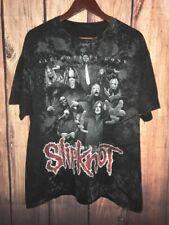 Slipknot All Hope Is Gone All Over Print Mens Used Black T-shirt Black Cotton...