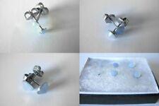 Orecchini di bigiotteria blu in acciaio