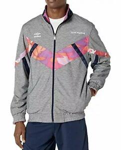 Umbro Men's Coral Studios X Reversible Jacket Size Medium $180 Soccer New