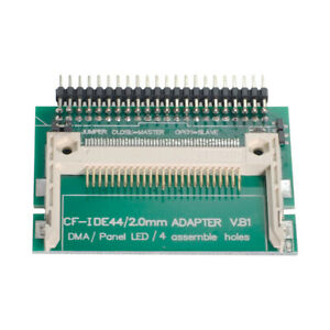 """Jimier  Compact Flash CF Merory Card to Laptop 2.5"""" 44 pins Male IDE Hard Disk"""
