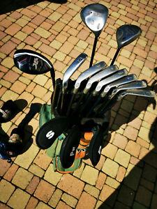 Club de golf Callaway avec sac et chariot
