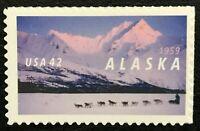 2009 Scott #4374 - 42¢ - ALASKA STATEHOOD  - Single Mint NH