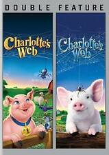 Charlottes Web (1973) / Charlottes Web (2006) (DVD, 2014, 2-Disc Set) - NEW!!