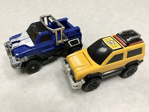 Power Rangers Turbo Megazord Zords Yellow #4 Blue #2