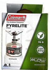 NEW COLEMAN FYRELIGHT™ STOVE 76g Camping 1410231