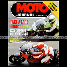 MOTO JOURNAL N°285 LAURENT GOMIS HONDA RCB GODIER-GENOUD BOL D'OR SALON '76