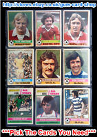 ☆ Topps 1977 Football Red Back Cards 201 to 330 (G/F) *Pick The Cards You Need*